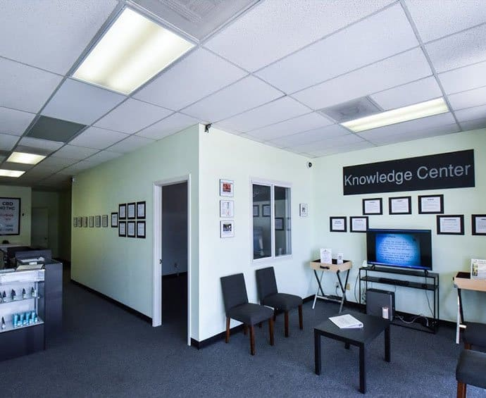 Sun City CBD DIspensary Interior 1