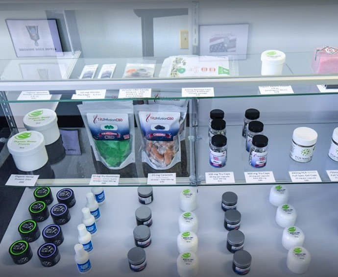 Sun City CBD Dispensary Interior 3