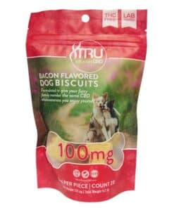 TRU-INFUSION-100MG-BACON-FLAVORED-DOG-BISCUITS