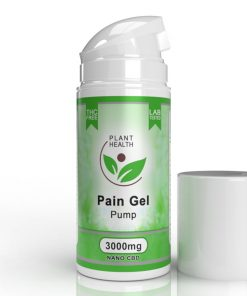 PLANT HEALTH 3000MG NANO CBD PAIN GEL PUMP